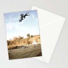 Taka Higashino's Doublegrab Backflip, FMX Japan  Stationery Cards