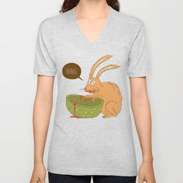 Slow and Steady Unisex V-Neck
