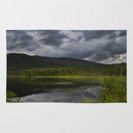 Long Pond in Eden, Vermont Rug