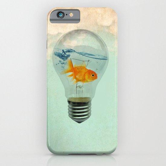 goldfish thinking iPhone & iPod Case