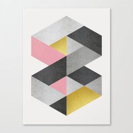 Polygon geometry XVIII Canvas Print