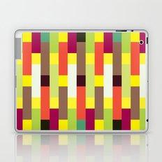 Multicolour stripes pattern Laptop & iPad Skin