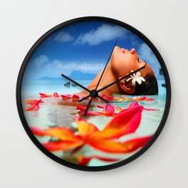 Natural Love Wall Clock