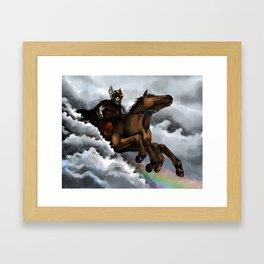 Sleipnir Framed Art Print