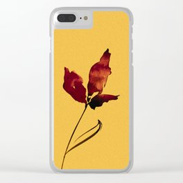 Floral Abstract No.2s by Kathy Morton Stanion Clear iPhone Case