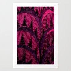 Chrysler Spire Pink Art Print