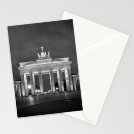 BERLIN Brandenburg Gate | monochrome Stationery Cards