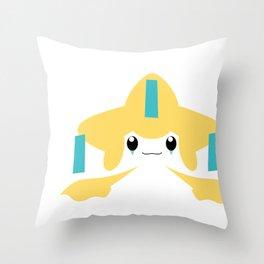 Jirachi Throw Pillow