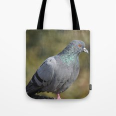 The great Indian pigeon Tote Bag