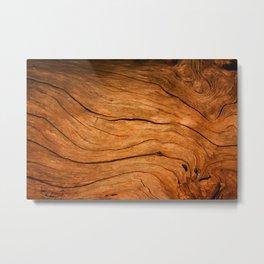 Wood Texture 99 Metal Print