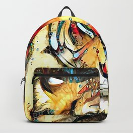 Fantazi (Tiger is Not Amused II) Backpack
