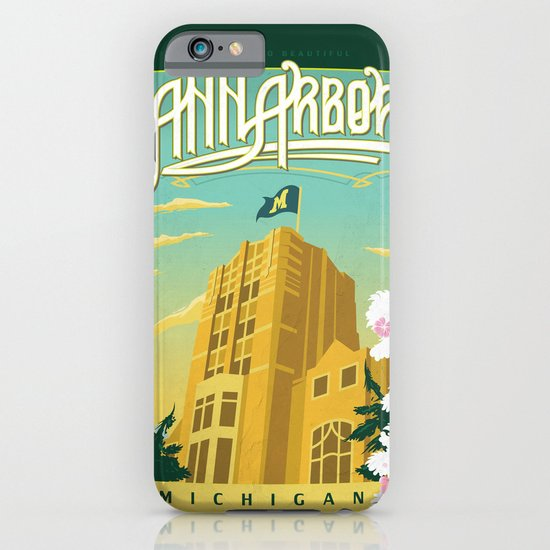 Ann Arbor Union iPhone & iPod Case