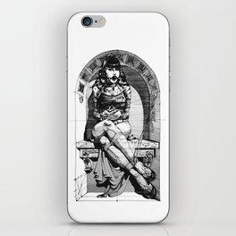 Lady in niche iPhone Skin