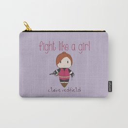 Fight Like a Girl 33 - claire redfield Carry-All Pouch