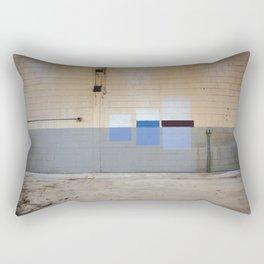 Wall Swatches Rectangular Pillow