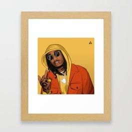 QUAVO Framed Art Print