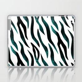 Here Kitty Kitty - Teal Laptop & iPad Skin