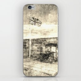 Edinburgh Castle Vintage iPhone Skin