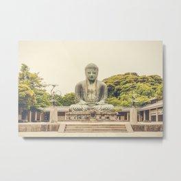Big Buddha II Metal Print