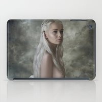 mother of dragons iPad Cases featuring Mother of Dragons by Flo Tucci