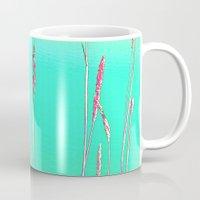 grass Mugs featuring Grass by Anne Millbrooke