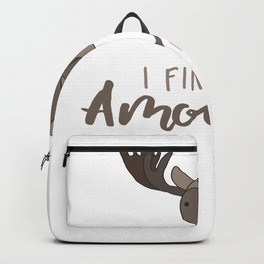 I Find You Amoosing Backpack