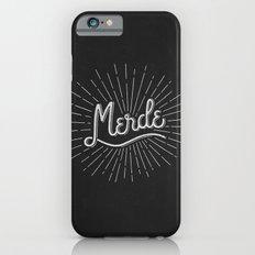 MERDE - NOIR iPhone 6 Slim Case