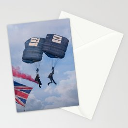Proud To Be British-Tigers Parachute Display Team Stationery Cards