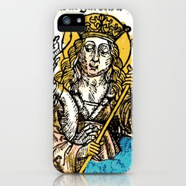 Saint Margaret of Antioch iPhone Case