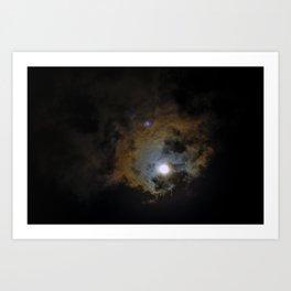 Solar Eclipse  V Art Print