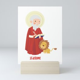 Saint Jerome Mini Art Print