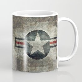 Stylized US Air force Roundel Coffee Mug