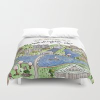 dc Duvet Covers featuring Washington DC by Brooke Weeber