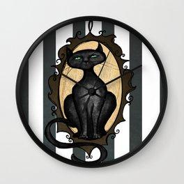 Familiar in Frame Wall Clock