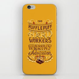Hard Workers iPhone Skin