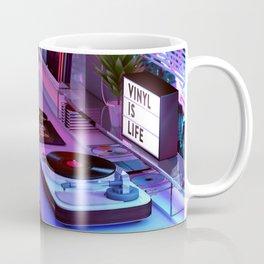Vinyl is Life Coffee Mug