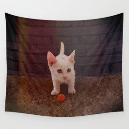 Alley Kitten Wall Tapestry