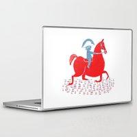 napoleon Laptop & iPad Skins featuring Little Napoleon by Hadar Geva