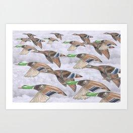 """ Migration "" Art Print"