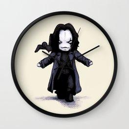 Plush Crow 2.0 Wall Clock