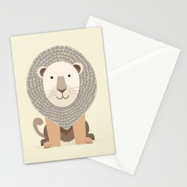 Whimsical Lion Stationery Cards