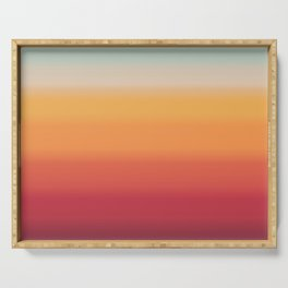 Sunset Shades Serving Tray