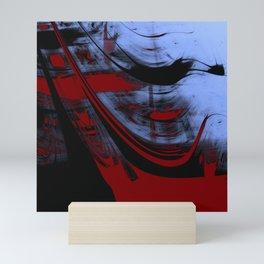 Impressionist Old Red Sailship Mini Art Print