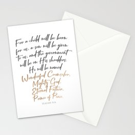 Mighty Stationery Cards