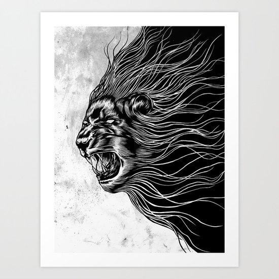 Furious2 Art Print