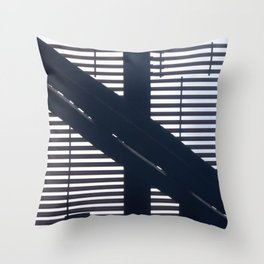 Kriss Kross Throw Pillow