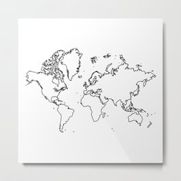 Welcome to Finland Metal Print