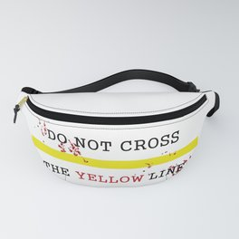 The Yellow Line Fanny Pack