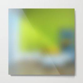 TRANSLUCENTE | Yellowgreen Metal Print