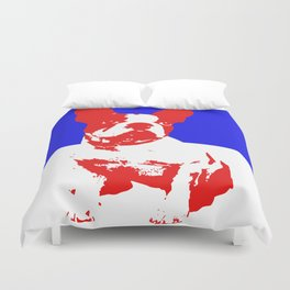 French Bulldog pop art Duvet Cover